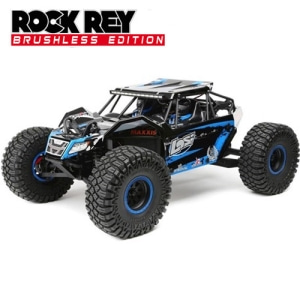 [락레이]Losi 1/10 Rock Rey 4WD Blue RTR with AVC