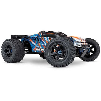 1/10 E-Revo 6S VXL 2.0 Brushless 4WD RTR (Orange) 신형이레보