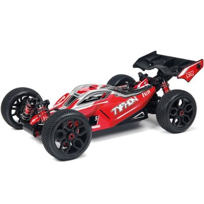 AR102696 ARRMA 1:8 TYPHON 3S BLX Brushless 4WD RTR (Red) 80+km/h 전동버기
