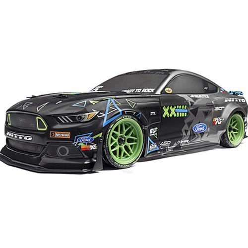 115984 RS4 SPORT 3 VGJR FORD MUSTANG 1/10 4WD ELECTRIC CAR