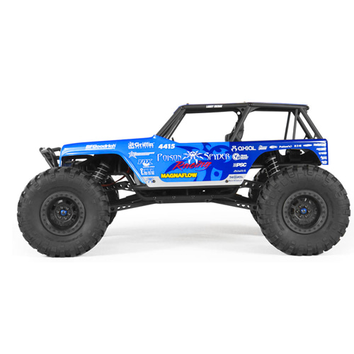 Axial Wraith - Jeep® Wrangler Wraith-Poison Spyder Rock Racer 1/10th Scale Electric 4WD RTR 락레이서