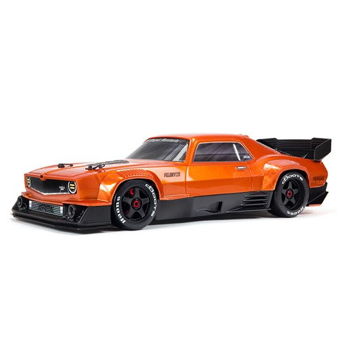 ARRMA 1:7 FELONY 6S BLX Street Bash All-Road Muscle Truck RTR (Orange) 펠로니