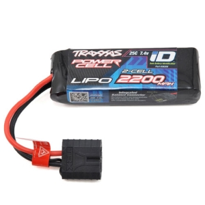 "CB2820X Traxxas 2S ""Power Cell"" 25C LiPo Battery w/iD Traxxas Connector (7.4V/2200mAh)"