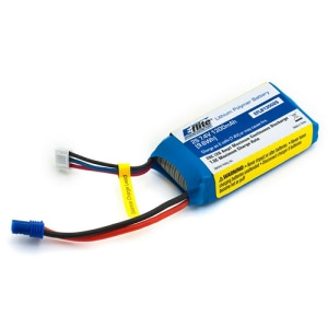 미국 E-flite 정품배터리 2S Li-Poly Battery Pack w/EC2 Connector 20C (7.4V/1300mAh) Delta Ray 배터리