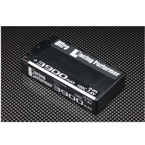 RPB-39E2K Racing Performer Ultra Li-po 7.4V 3900mAh 100C Battery (for 1/12 ・4mm plug)