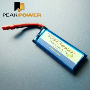 PEAKPOWER 750mah 3.7V 35C 리포배터리 Zeyrok,Galaxy Visitor
