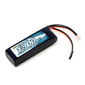 IMPACT Li-Fe Battery 1800mAh/6.6V 4C Flat Size for Tx & Rx