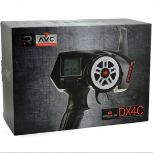 [SPM4210]Spektrum DX4C DSMR 4-Channel Radio System w/SRS4210 AVC수신기 포함