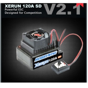 XERUN 120A SD V2.1 Brushless ESC