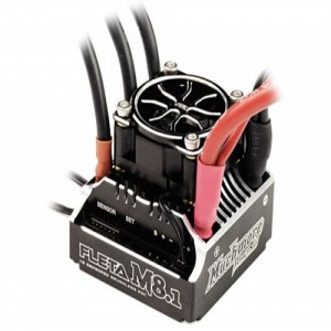 [ME-FLM81] FLETA M8.1 Competition 1/8th Scale Brushless ESC 180A Black