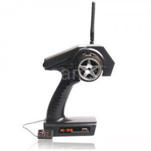 HISKY X-3S 3-Channel 2.4GHz FHSS Radio System w/XY3100 Receiver 자동차용 조종기