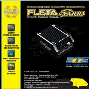 [ME-FLEK] FLETA Euro Brushless ESC Black Case