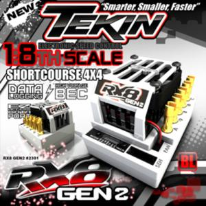 [TT2301] Tekin 1/8 RX8 Gen2 Brushless Sensored/Sensorless ESC (최고급형 변속기)