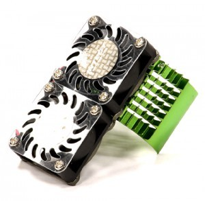 쿨링팬 Super Motor Heatsink+Twin Cooling Fan 750 for Traxxas Summit C23137GREEN