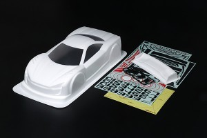 [TA54774] Raikiri GT Body Whi Painted
