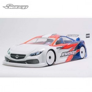 [SW-SD0028L] STC-8 1/10 190MM TOURING CAR CLEAR BODY LW