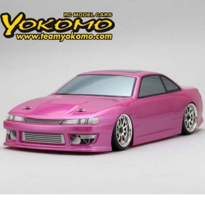 [SD-S144B] SD-S144B Body Set for 460POWER S14 SILVIA(Graphic decal less) 드리프트 바디(미도색)
