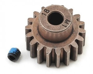 [AX6491X] Gear,18-T pinion(1.0 metric pitch) (fits 5mm shaft)
