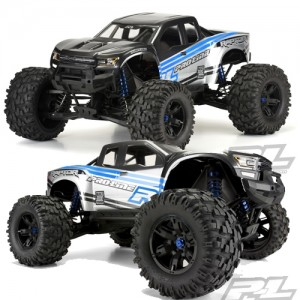 [AP3482-17] Pre-Cut 2017 Ford F-150 Raptor Clear Body for X-MAXX
