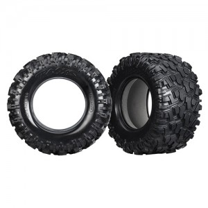 [AX7770X] Tires, Maxx AT (left & right) (2) foam inserts (2)
