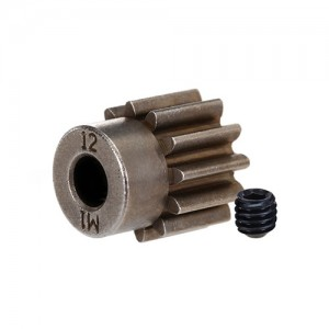 [AX6485X] Gear,12-T pinion(1.0 metric pitch) (fits 5mm shaft)