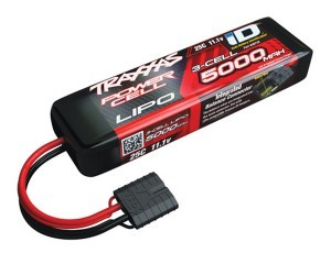 "[CB2872X] Traxxas 3S ""Power Cell"" 25C Li-Poly Battery w/iD Traxxas Connector (11.1V/5000mAh) (iD 단자) - X-MAXX 배터리"