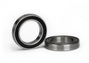 [AX5107A] Ball bearing, black rubber sealed (17x26x5mm) (2)