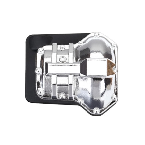 AX8280X Differential cover, front or rear (chrome-plated)