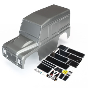 AX8011X Body, Land Rover Defender graphite sil