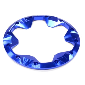 [50%특가]C25863BLUE Billet Machined Beadlock Ring (1) for Traxxas 1/10 Summit Off-Road Truck