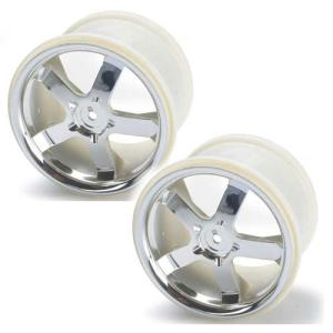 AX5373 Wheels, Hurricane 3.8 (chrome) (2) (also fits Maxx series)