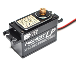 [DLP650] Digital Racing Low Profile Servo DLP650 (0.07sec/60도, 7.1kg.cm - at 6.0V)