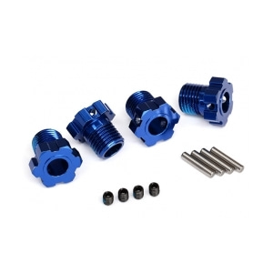 AX8654 Wheel hubs,splined,17mm(blue-anodz