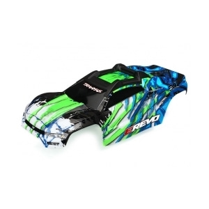 AX8611G Body, E-Revo, green/ window