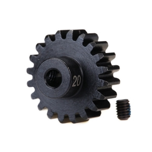 AX6487R Gear, 15-T pinion(machined)(MOD1) 5mm샤프트