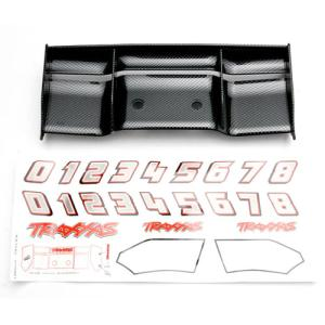 AX5446G Wing, Revo (Exo-Carbon finish)/ decal sheet