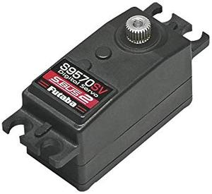 Futaba S9570SV SBus2 HV EP Car Low-Profile Servo 로우프로파일 서보