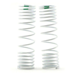 AX6866 Progressive Rate Rear Shock Springs (Green) (2)