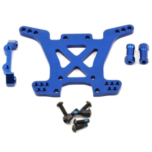 AX6838X Aluminum Rear Shock Tower (Blue)