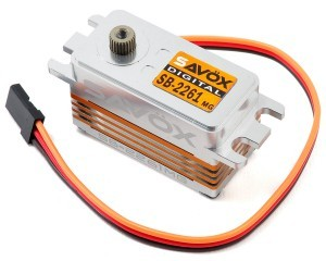 "[88889324] Savox SB-2261MG ""High Speed"" Low Profile Brushless Steel Gear Digital Servo"