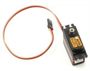 "[88889347] Savox SH-1257MG Digital Metal Gear ""High Speed"" Mini Servo"