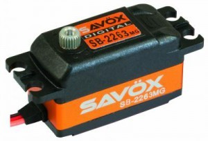 [88889346] SB-2263MG SAVOX LOW PROFILE BRUSHLESS DIGITAL SERVO (10KG/0.076s@6.0V)