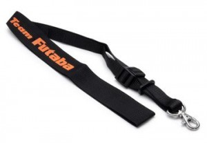 [FUEBB1063] Neck Strap Team Futaba Black/Orange