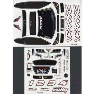 AX7313 Decal sheet, 1/16 Traxxas Rally