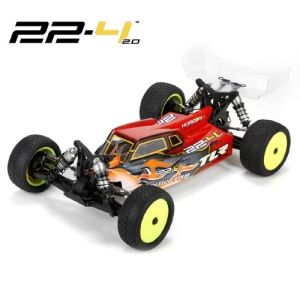 TLR 22-4™ 2.0 Electric Buggy Kit (경기대회용 월드급)