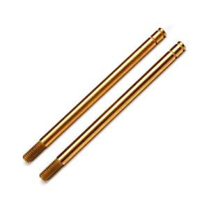 AX2656T Shock shafts, hardened steel, Titanium Nitride coated (xx-long) (2)(Rear)