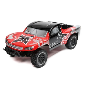 1/10 2WD Torment SCT Brushed, LiPo: Red/Silver RTR