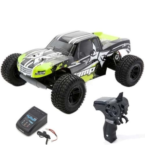 에이엠피 AMP MT 1:10 2WD Monster Truck:Black/Green RTR(조종기 포함,Hybrid MINI충전기 포함)
