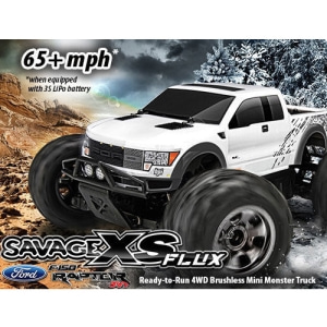 미니 세비지] HPI SAVAGE XS FLUX with Ford SVT Raptor RTR 시속100km/h+