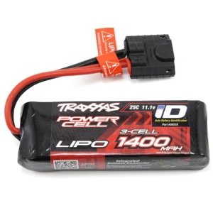 "CB2823X Traxxas 3S ""Power Cell"" 25C LiPo Battery w/iD Traxxas Connector (11.1V/1400mAh)"